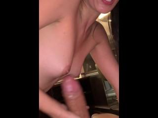 Beautiful Big Booty Latina Sucks Really Good Dick