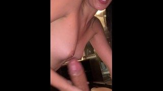 Beautiful Big Booty Latina Sucks Really Good Dick