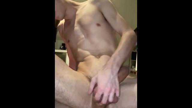 Hardcore gay cum clips Big dick twink rides big dick slowly hot short clip
