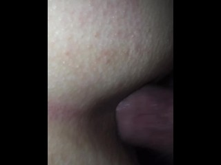 Blue eyed babe squirts and gets fucked in her pussy and ass during quaranti