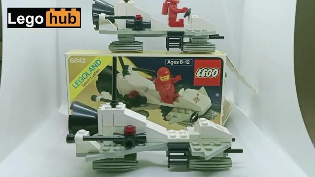 Vintage duplo lego sets Fast build of a 1981 vintage lego space set