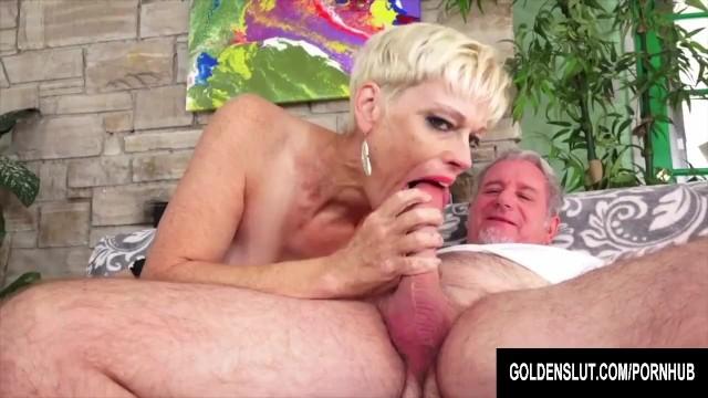 Golden Slut - Older Ladies Show off Their Cock Sucking Skills Compilation 7 10
