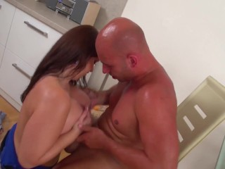 busty milf destroyed by a big dick