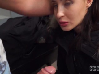DEBT4k. Night club manager Monica Wet sells pussy