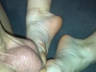 74 intense veiny feet...