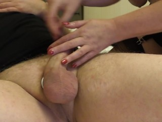 Filthy Mature Makes Guy Shoot His Hot Load With Magic Wand And Mouth