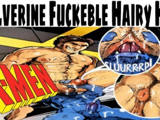 Wolverine enjoy being fucked and rimmed epic animation...