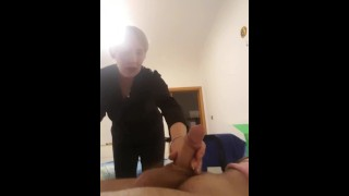 Flash dick jerk Caught granny deutch