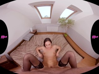 Teens in Stockings Compilation POV Virtual Reality