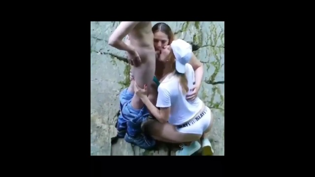 Naked rio pics - Caught doing a threesome in the river. very good blowjobs