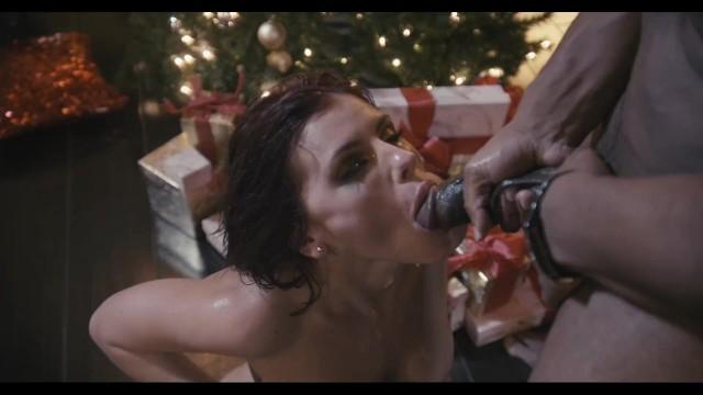 Adriana CHechik has a christmas BBC Gangbang! 43