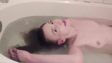 Some like it slow - slow motion long hair in water fetish video