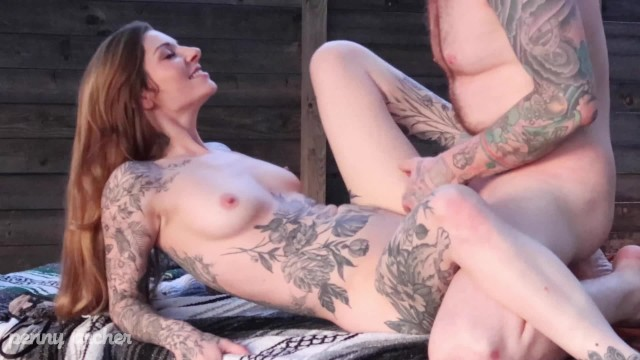 Sunset Sex with Johnny Goodluck 32