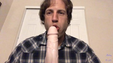 Guy Teases & Burps On Lover's Cock Gay JOI