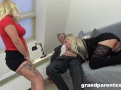 Granny and I share Grandpa's Old Cock