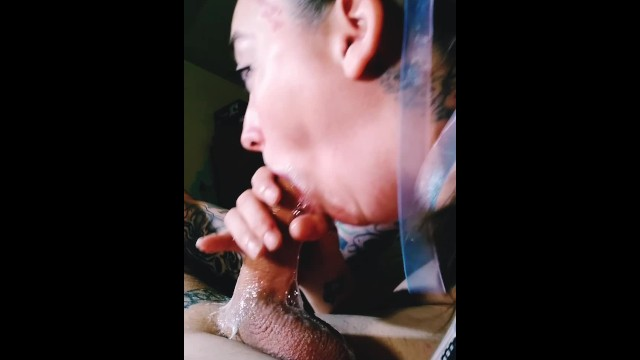 Sloppy balls deep blowjob for CUM IN MOUTH 1
