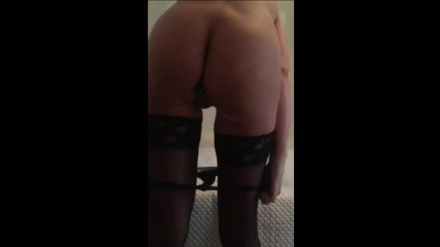 Mom strips with dildo in ass 6