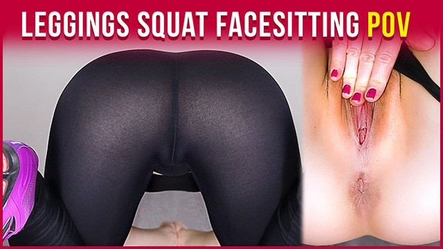 Mature legs in house movies - My workout - doing squats in leggings and naked facesitting pov era