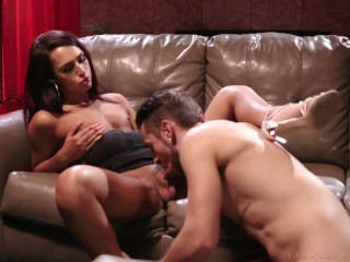 Transsensual hot gets drilled by dante colle...