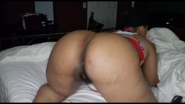 Ebony bbw gets pussy wet for you