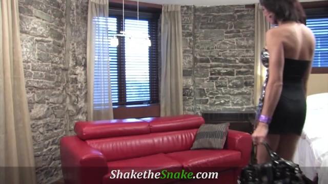 Shake The Snake - Super Cute Shemale Banged Hard 20