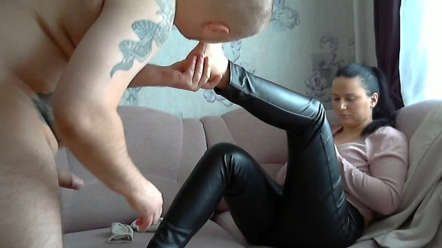 Big cock worship movies - Weekend ballbusting foot worship