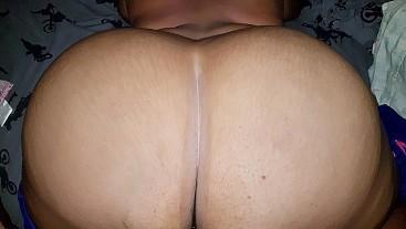 A CHUBBY SHY MAKES ME CUM IN HER HUGE ASS