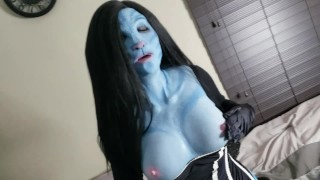 ALIEN GIRL IN DISGUISE PREVIEW/REMOVE HUMAN DISGUISE/MASSIVE SQUIRT SESSION