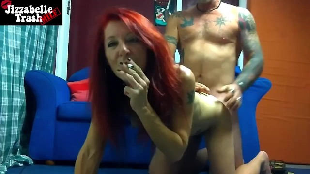 Blonde redhead in an expression of the - Redhead milf smoking close up facial expression doggy style hard fuck