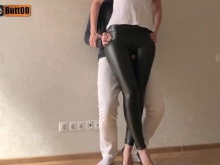 Porn skinny leggings Free Shiny