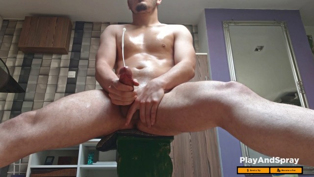 Types of sexual orientations - Hot bisex guy huge cumshot thick dick, moaning slow motion