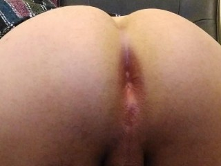 Fat assed bubble butt latino bends over and...