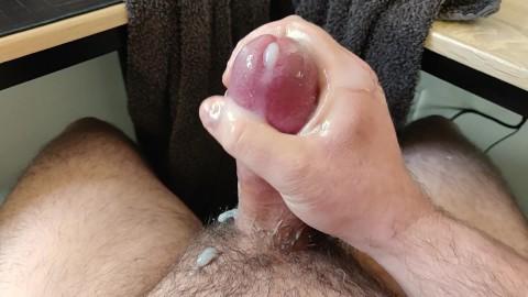 Man eats cum off hairy pussy Guy Eats Own Cum Porn Videos Pornhub Com