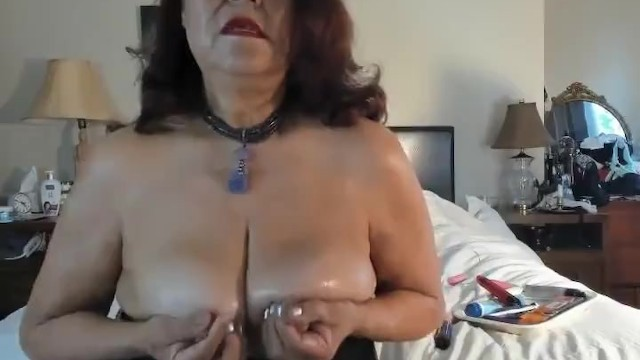 Fondled my breast and between my legs - Sexy mature love to have something between my big natural breasts