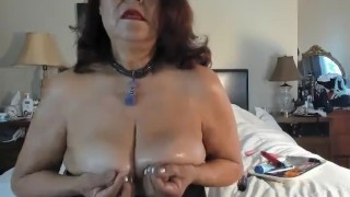 sexy mature love to have something between my big natural breasts