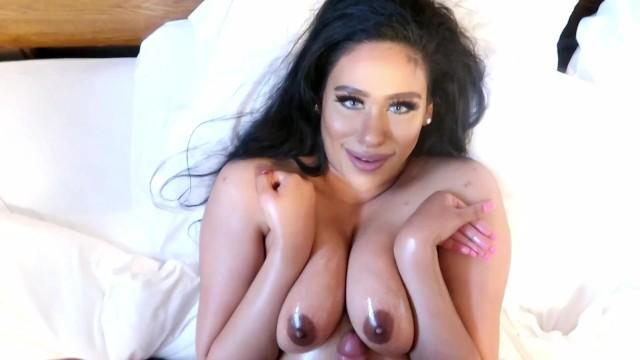 Big tit asian facials Tit fucked messy facial teaser