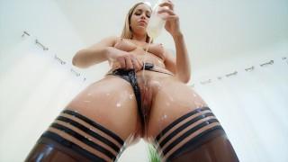 Jules Jordan - Alina Lopez Is Oil Overloaded