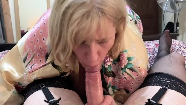 Crossed dressed porn clips Cross dressing sissy cums in mature moms mouth after sloppy blow job.