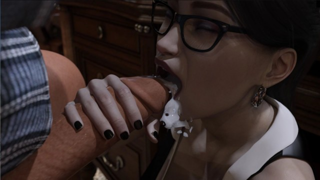 Adult sex free pc games Pandoras box 5: boss receives a blowjob under the desk gameplay