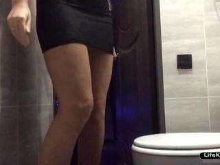 Скрытая камера секс туалете ночного клуба клуб москва 7