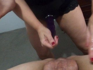 Strapon pegging & rimming & prostate massage POV - MIN MOO