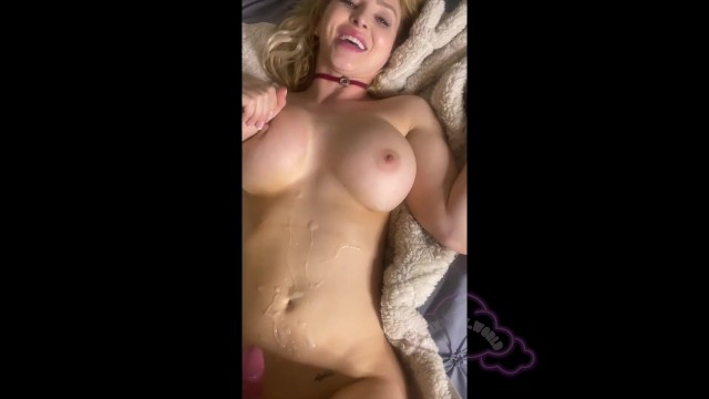 Sexy bumble bee Fucking my bumble date until he cums on my tits