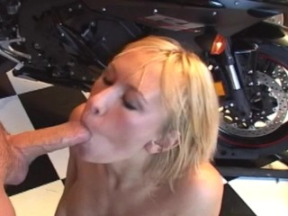 Blonde stripper fucks trailer full scene in profile...