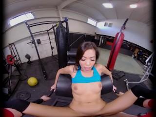 VRConk Tiny tattooed asian gives hardcore training VR Porn