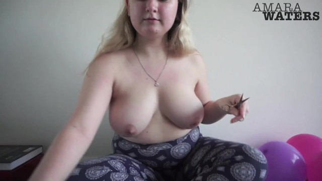 Topless Balloon Popping 2