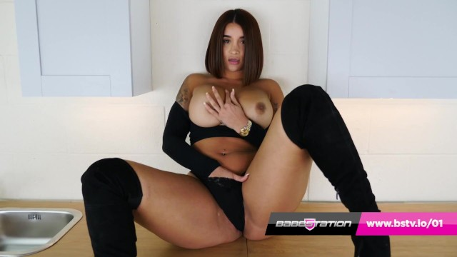 Young pitet pussy British asian priya young plays with pussy in tartan miniskirt