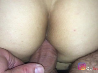 Shes On Her Period Luckily She Has Other Holes To Fill Real Amateur Anal