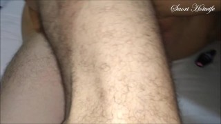 My friend fucked me four times without condom and fills me with cum inside