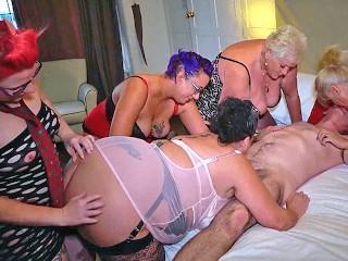 Five british amateur matures...