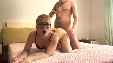 I love when my stepbrother fucks me. His dick is like a native to me.